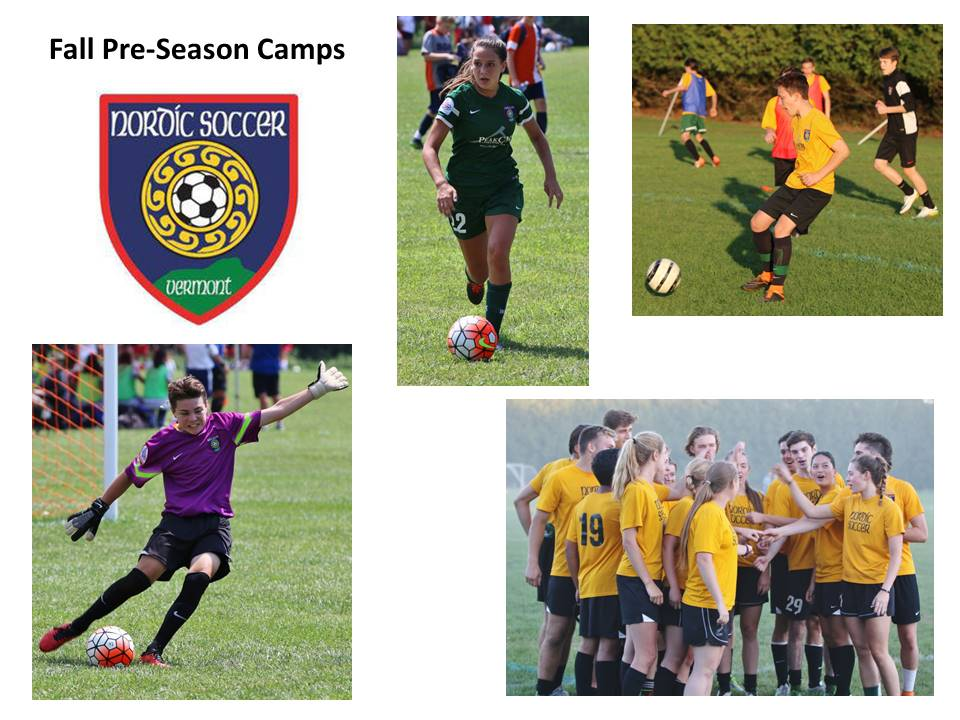 Fall Pre-Season Camps