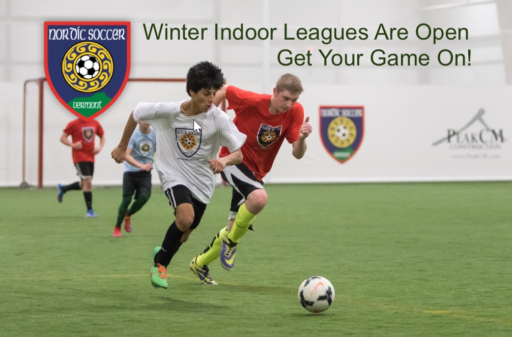 Indoor League Registration Is Open