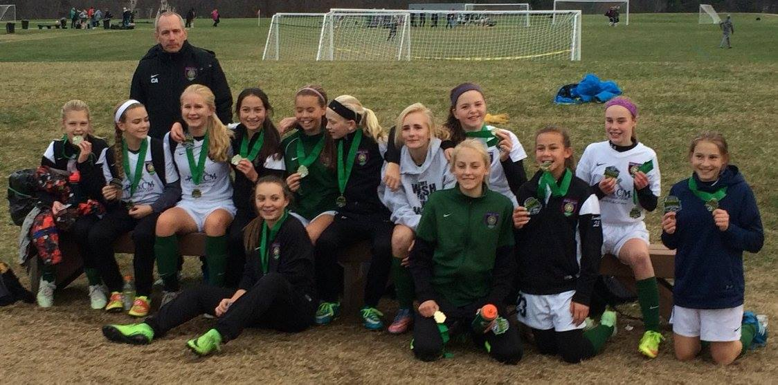 Three Nordic Teams Take Home New England Soccer Invitational Crowns!